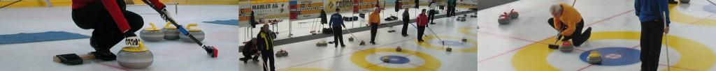 Curlingszene Haus