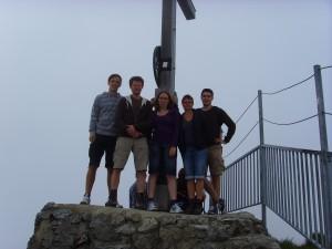 CC Konstanz auf dem Nebelhorn in Oberstdorf