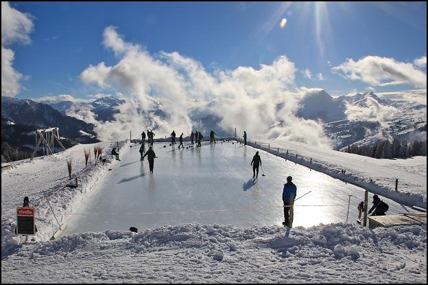 Europas höchster Curlingrink und der CC Konstanz.
